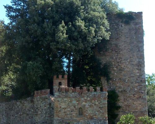Resti del castello di Laterina