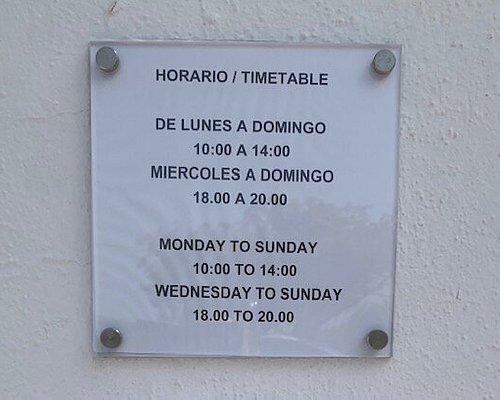 Horario de Verano de la Oficina y el Museo.