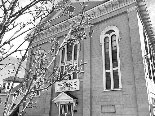 A previous church, The Phoenix survived the Great Fire and is one of the oldest original churches in uptown Saint John.