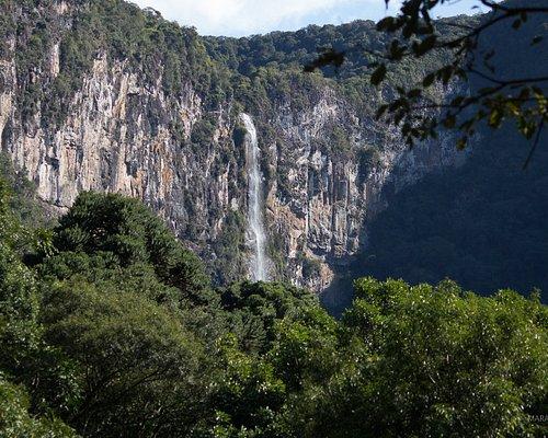 Vista lida da cascata do Escangalho.