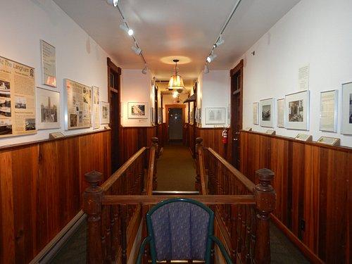 Museum upstairs