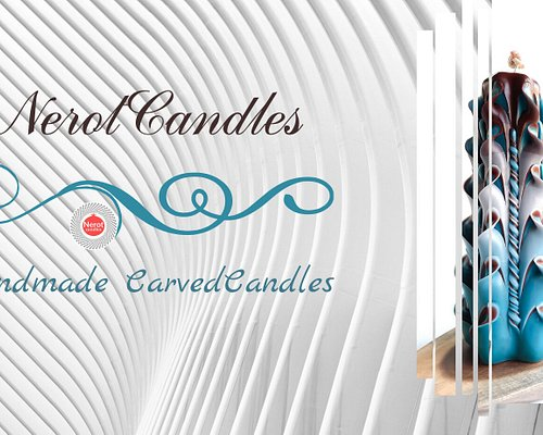 Handmade carved candles, natural pure beeswax carved candles, hand-carved customized candles, scented carved candles from the NerotCandles art studio. Personalized gifts. 100% author's design. A perfect gift for any occasion.  Made with love, Nina and Julia.
