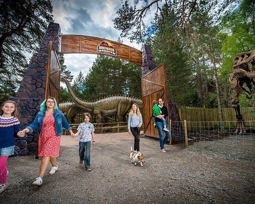 Dinosaur Kingdom at Landmark Forest Adventure Park.