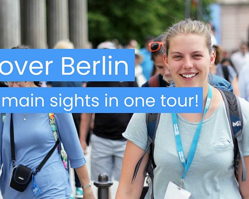 """Our most popular tour! Discover Berlin is the perfect introduction to the German capital. See all the major sights including the Brandenburg Gate, the Berlin Wall, and the Reichstag. Cross through Checkpoint Charlie, stroll over a UNESCO World Heritage Site, and pay respects at the Memorial to the Murdered Jews of Europe.  Winner of the Tripadvisor """"Best of the Best"""" (top 1%) award 2021."""