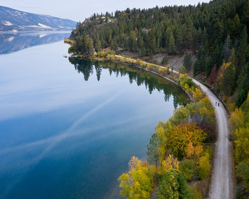 #Explore the Okanagan Rail Trail! From the blue waters of Kalamalka Lake to the cliffs, forests and ponds, the rail trail will get you closer to nature than you ever thought possible.