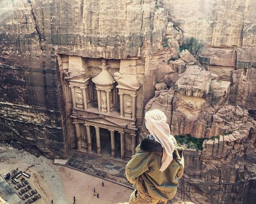Unforgettable view Petra, Jordan