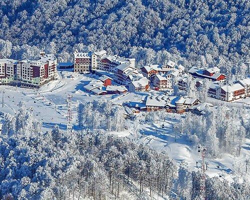 Горная Олимпийская деревня (1100 м)
