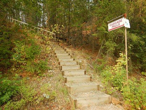 Trail head by Hwy 395