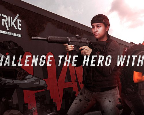 Unleash your inner warrior at Xstrike, an indoor action-packed entertainment destination in Dubai.