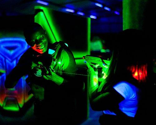 Lasertag fun