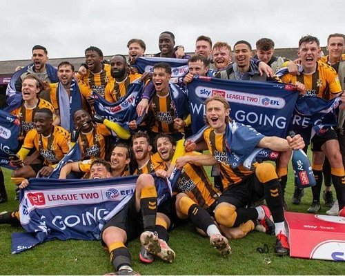 Promoted to League One 08/05/21