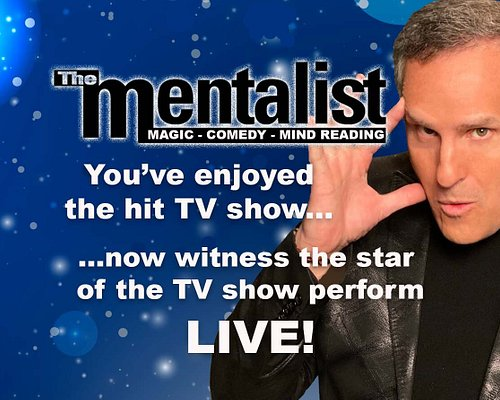 """Gerry McCambridge """"The Mentalist"""" has been headlining in Las Vegas for over 16 years. He is the most successful Mentalism show in Las Vegas history!"""