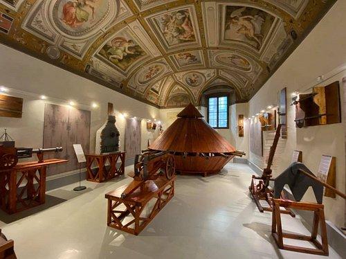 Sala delle Armi di Leonardo Da Vinci