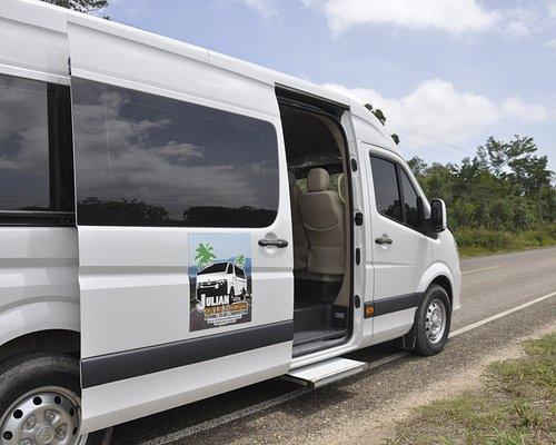 Julian Transfers and Tours 14-passengers van.