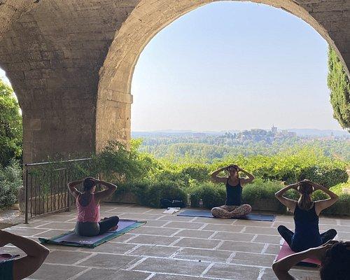 Echappée yoga à Avignon