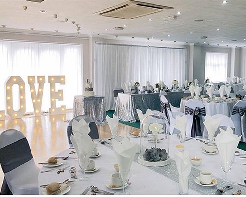 This is a fabulous wedding venue with friendly staff and top class food overlooking the most amazing golf course.  Would highly recommend.