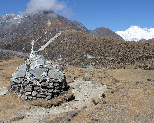 Mt. Everest region. Trekking in Nepal.