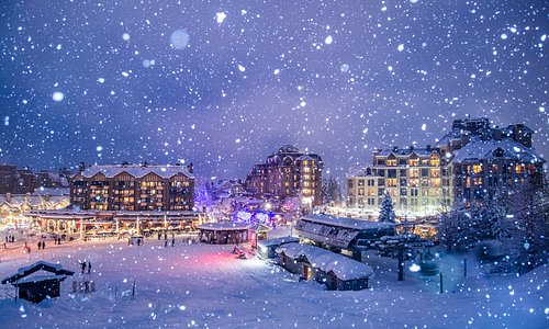 Whistler Village is the beating heart of a social community where locals bring their up-for-anything attitude to every shop, restaurant and gathering place – its energy is palpable.  Photo: Mitch Winton