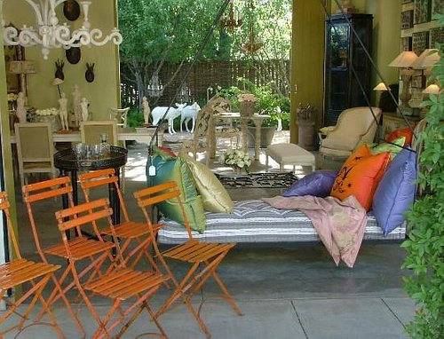 Vintage Garden Party Chairs