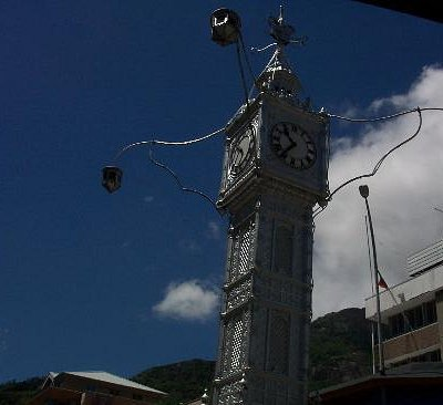 tower clock in Victoria