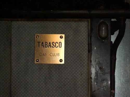 the door sign