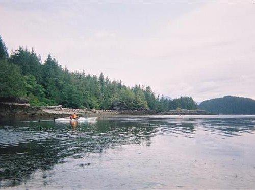 Ocean Kayaking in Clayoquot Sound near Tofino