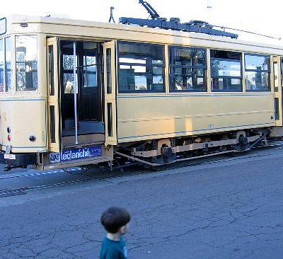 Another Old Pueblo Trolley car