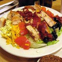 A cobb salad at Cecil's