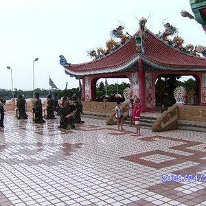 A must visit the nearby Chines Temple