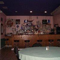 a shot of the bar