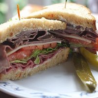 Huge sandwich (save some 4 later)