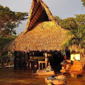 Main Lodge and beautiful view