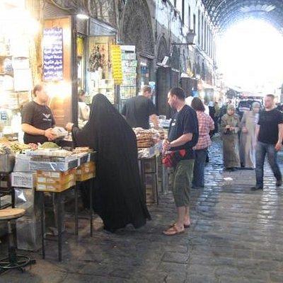 Damaskus in Syrien 1000 und eine Nacht