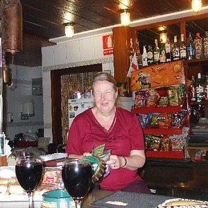 Patricia, bar Europa's landlady