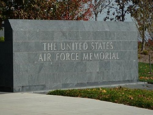 Air Force Memorial Entrance Sign