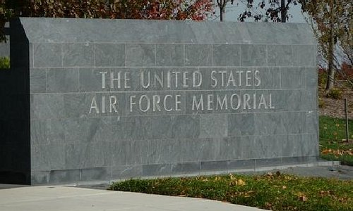 Air Force Memorial Entrance Sign