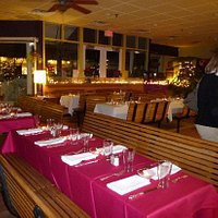 We transform our space for elegant parties, using fine china and silverware.