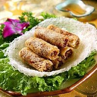 sea crab spring roll