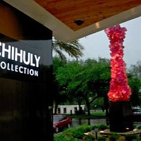 Front of Chihuly Collection