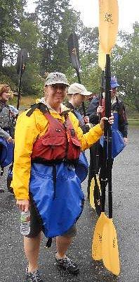 sea kayak fashion statement