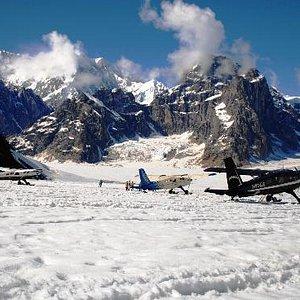The Ruth Glacier Denali National Park