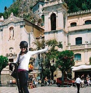 Taormina Segway PT Tour authorized by CSTRents - Corso Umberto