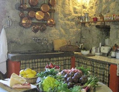 The old mill kitchen