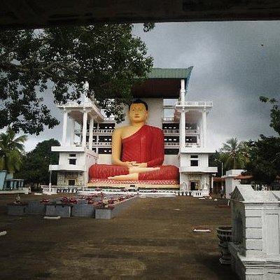 The Giant Buddha Statue.