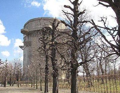 Vienna - Augarten (the tower)