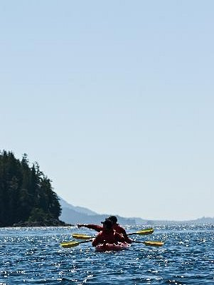 Sea Kayaking in tranquil and abundant waters