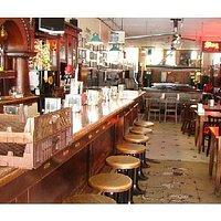 Booches bar area