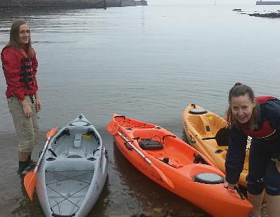 How not to put the kayak in the water !!