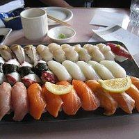 Lovely sushi!