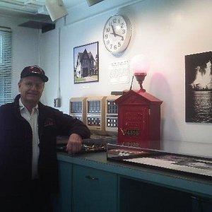 G. Thomaier, museum co-founder & retired firefighter